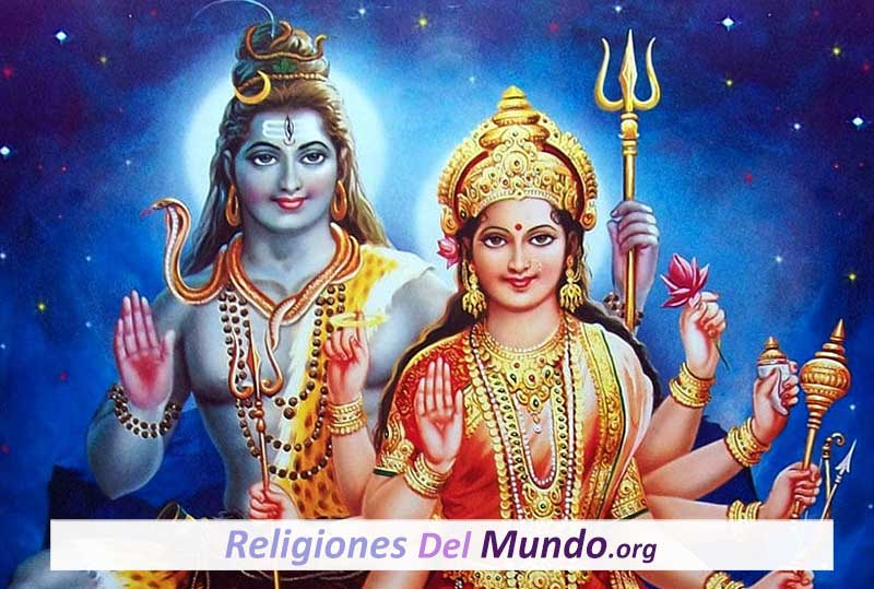 Dios Shiva y Diosa Shakti