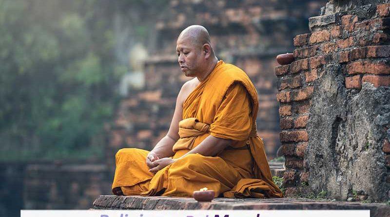 Monje del Budismo Tibetano